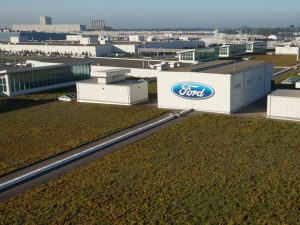 ford corporate green roof