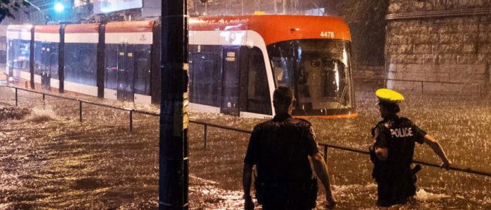Toronto flood of August 2018