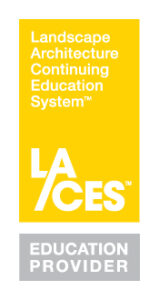 Yellow, white and grey Landscape Architecture Education System Education Provider logo